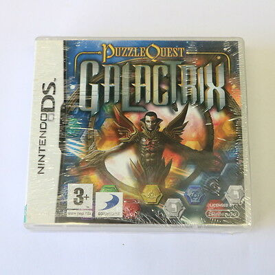 Puzzle Quest Galactrix - Nintendo Ds Game - Very Rare - New & Sealed