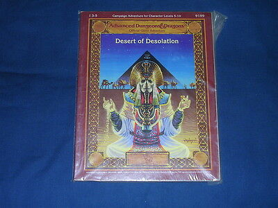 AD&D I3-5 Desert of Desolation TSR