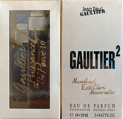 GAULTIER 2 de Jean Paul Gaultier 60+20ml (80ml). ORIGINAL