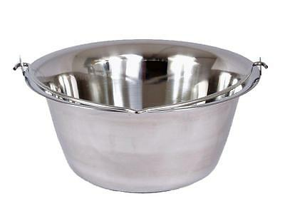Orig. Hungarian 6L Goulash Kettle Pot Stainless steel new Soup kettles Water pot
