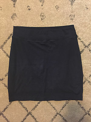 Women's Splendid Stretch Two Layer Cotton Navy Skirt - Size Small