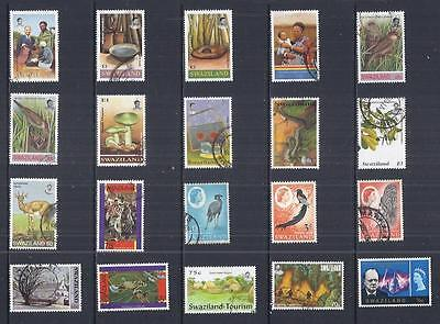 y1825 Swaziland / A Small Collection  Early & Modern Lhm & Used