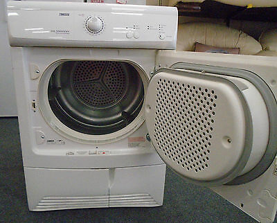 ZANUSSI ZDC37200W 7kg Front Load Free Standing Condenser Tumble Dryer - S75