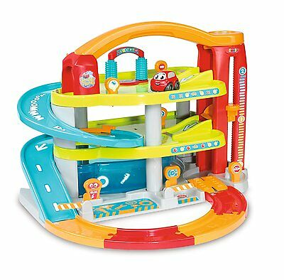 NEW Smoby Vroom Planet My Big Garage Toy Car Playset