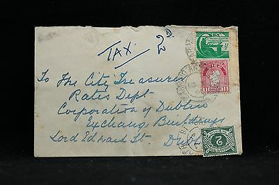 Ireland: 1951 Cover to Dublin, 2p Postage Due
