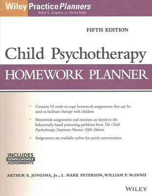 Child Psychotherapy Homework Planner, Fifth Edition by Arthur E. Jongsma (Englis