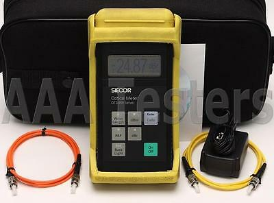 Siecor Corning OTS-210 SM MM Fiber Optic Power Meter OTS-200 OTS 210 200