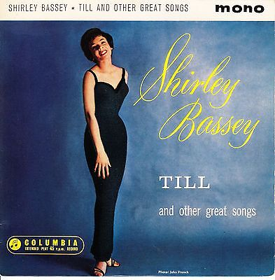 Shirley Bassey 1962 Uk Ep *till + 3*  Jazz Pop