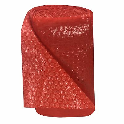 """30-Feet Roll of Red Bubble Small 3/16"""" Wrap x 12"""" Wide"""