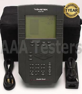 Wavetek JDSU 3SRV CATV Reverse Sweep Meter 3SR w/ Enhanced Transmitter Power