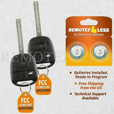 For 1998 1999 2000 2001 Lexus ES300 Remote Key Combo Keyless Entry Fob