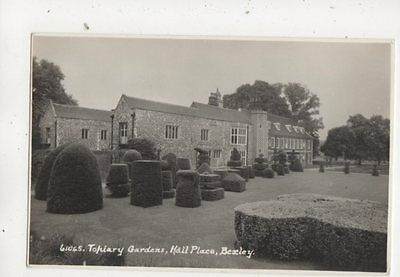 Topiary Gardens Hall Place Bexley Kent 1965 RP Postcard