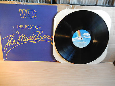 War - The Best Of The Music Band (1982 MCA) LP
