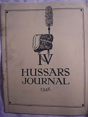 4th Hussars Regiment Journal 1946 Winston Churchill Roll Awards Cavalry History