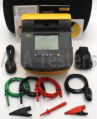 Fluke 1550C Digital MegOhmMeter High Voltage Insulation Tester 1550