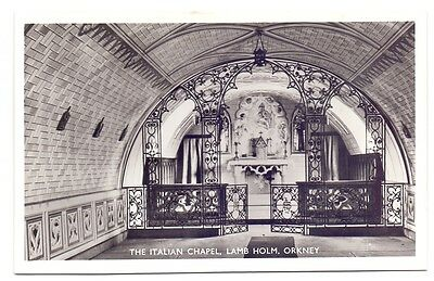 Post Card,The Italian Chapel,Lamb Holm,Orkney,publisher unknown (A) #2