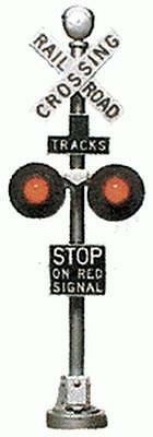 Tomar 9862  O Scale Operating Highway Flasher Signals (2)