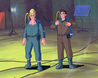 The Real Ghostbusters Original Production Animation Cel & Copy Bkgd #A21833