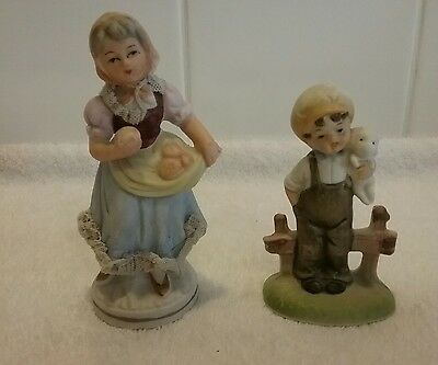 Deco Boy And Girl Ornaments