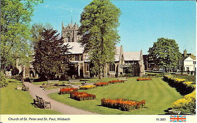 Cambridgeshire: Church of St Peter and St Paul, Wisbech - Unposted c.1970's