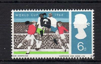 6d WORLD CUP (NON-PHOSPHOR) UNMOUNTED MINT + COLOUR SHIFT