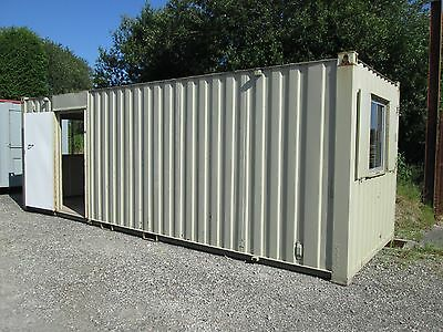 24ft Site Office, Site Cabin, Portable Building, Shipping Container
