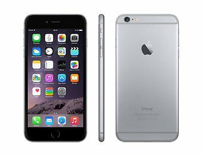 "Apple iPhone 6 16GB GSM""Factory Unlocked""Smartphone SPACE GRAY"