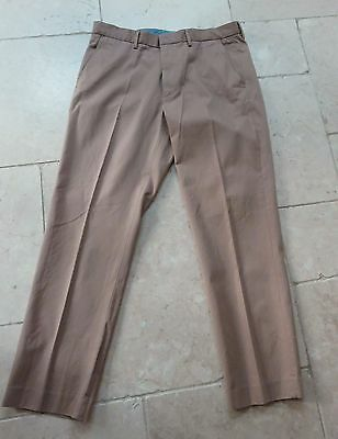 "J Crew Mens chino Pants Classic Fit Trousers in Caramel  W 36"" L 32"""