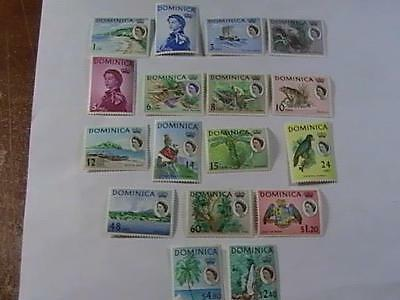 Dominica # 164-180-Mint/never Hinged--Complete Set----Qeii ----1963
