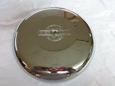 Harley Old School Round Chrome Plated Air Cleaner Cover Cv Carb  Evo Engine