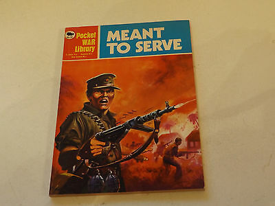 POCKET WAR PICTURE LIBRARY,NO 32,1970`S ISSUE,GOOD FOR AGE,47 yrs old,RARE COMIC