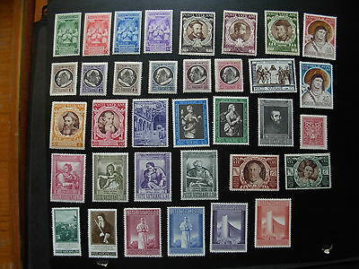 VATICANO MNH/LH ISSUES, 3 PICS, NO THINS no TEARS NICE, #SJ423