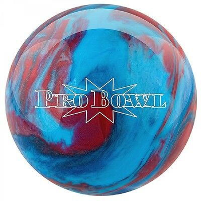 Pro Bowl Med Blue/blue/Red Polyester Bowling Ball