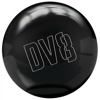 DV8 Polyester Ball Just Black Bowling Ball