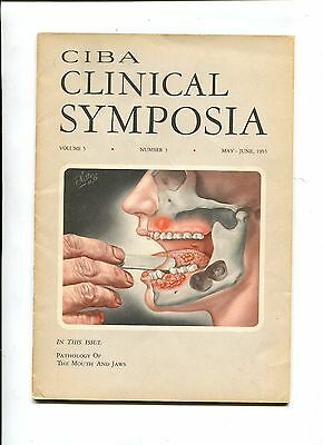 Vintage Medical Magazine CIBA CLINICAL SYMPOSIA May/Jun 1953 Dr Netter illus