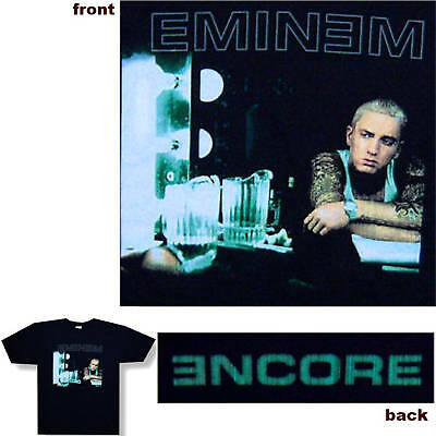 Eminem Encore/beer Pitcher Black T-Shirt Large New Official Slim Shady
