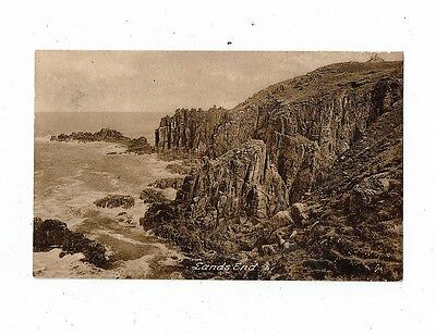 Cornish Post Card Early Printes Of Lands End