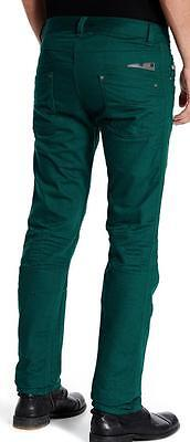 New with Tag - $195.00 Diesel Darron Leaf Green Straight Leg Jeans Size 32x32