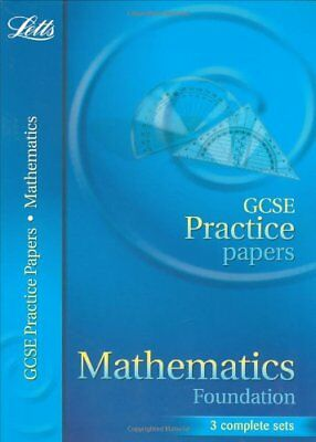 GCSE Practice Papers Maths Foundation (Letts GCSE Practice Test Pap... Paperback