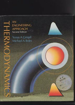 Thermodynamics: An Engineering Approach by Boles, Michael A. Paperback Book The