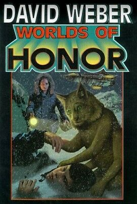 Worlds of Honor, Weber, David Hardback Book The Cheap Fast Free Post