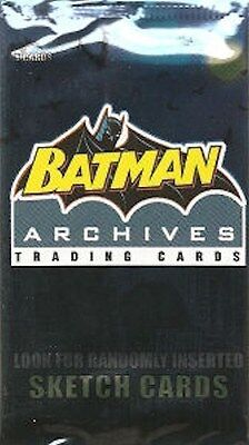 1 Pack / Packs Lot Factory Sealed Batman Archives Rittenhouse 2008