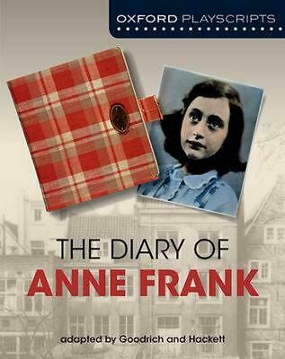 Dramascripts: The Diary of Anne Frank by Goodrich (English) Paperback Book Free