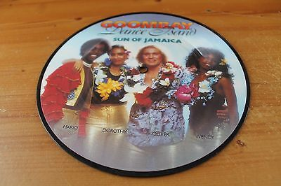 Goombay Dance Band....  Sun of Jamaica.. 7in, Picture Disc in clear sleeve