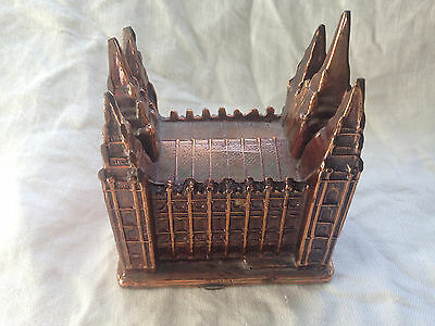 Souvenir Salt Lake Temple Salt Lake City Utah Metal Building - Mormon LDS