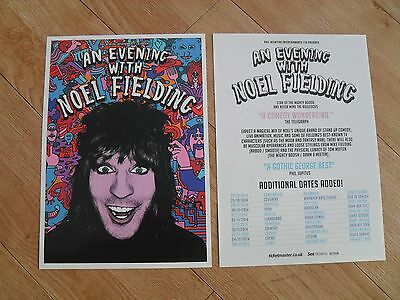 NOEL FIELDING - Lovely colour tour flyer (Mint) THE MIGHTY BOOSH