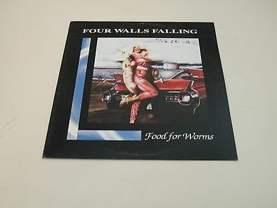 Four Walls Falling - Food For Worms - Lp 1994 Day After Recods - Hardcore -
