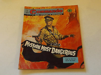 Commando War Comic Number 254!!,1967,v Good For Age,50 Years Old Issue,v Rare.