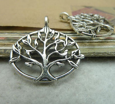 "10pc Charms ""Tree Of Life"" Pendant Beads Crafts Accessories 26mm*26mm T682S"