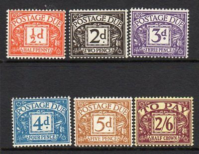 D40-D45 1954-55 Postage Due Set UNMOUNTED MINT(509)